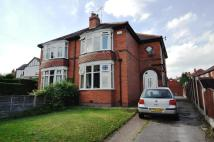3 bed semi detached home in Armthorpe Road...