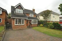 Detached home in Aisthorpe Grove, Maghull...