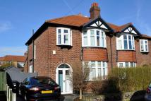 3 bedroom semi detached property for sale in Windsor Avenue Gatley...