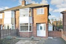 3 bedroom semi detached property in Lynwood Crescent...
