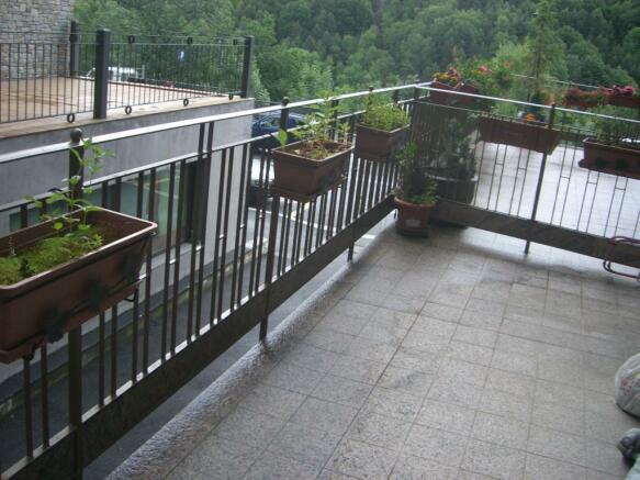 Terrrace/balcony
