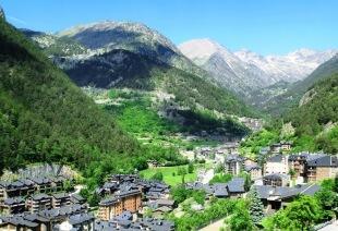 Arinsal valley