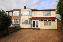 semi detached house in Cowper Close, Welling