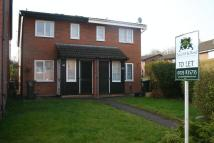 1 bed semi detached property in Harbourne Gardens...