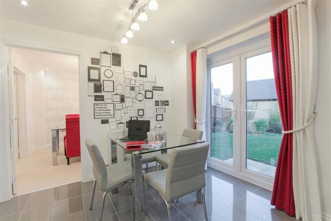 Actual Eynsham show home at Westlands