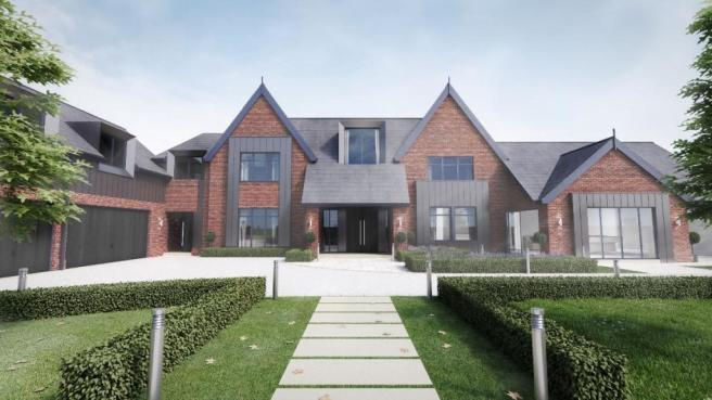 5 bedroom detached house for sale in prestbury road for New 5 bedroom houses for sale