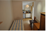 Studio flat in Princes Square, London...