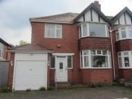 3 bedroom semi detached property in Knightlow Road, Harborne...