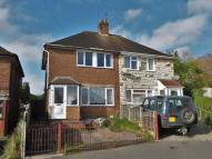 3 bedroom semi detached property for sale in Overdale Road, Quinton...