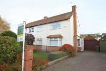 3 bed semi detached property in Overdale Avenue...