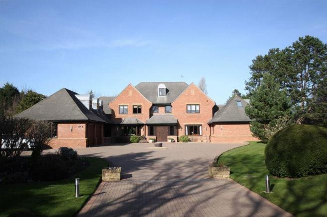 5 bedroom detached house for sale in croft drive east caldy wirral ch48