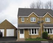 3 bedroom semi detached property in Samuel Vickery Way...