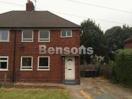 Harvey Crescent semi detached house to rent