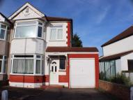 semi detached house in Laurel Crescent, ROMFORD...