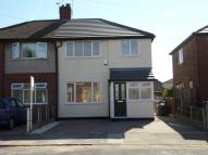 Laburnum Road semi detached house to rent