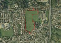 property for sale in Former Claydon High School Playing Field, Burgh Road,