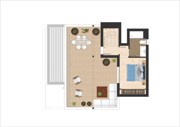 3 Bedroom Duplex