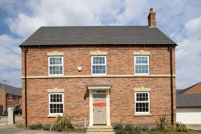 Bed Room Detached House For Sale In Groby