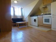 Studio apartment in Radcliffe Road, London...