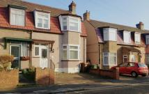 semi detached property to rent in Norfolk Road, Dagenham