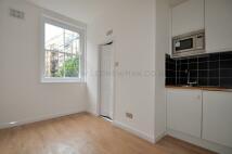 Studio apartment in Rupert Street, London...