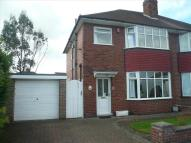 Bonsall Avenue semi detached house for sale