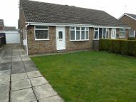 Semi-Detached Bungalow in Parkways, Selby, YO8