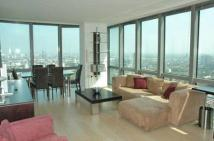 One West India Quay Apartment to rent