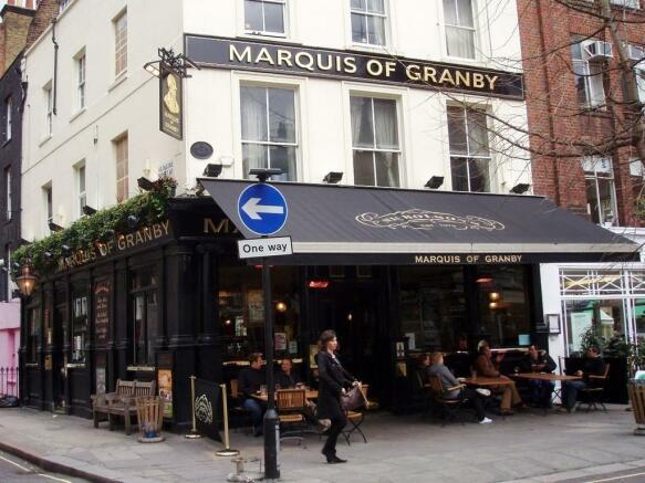 Local pub Marquis...