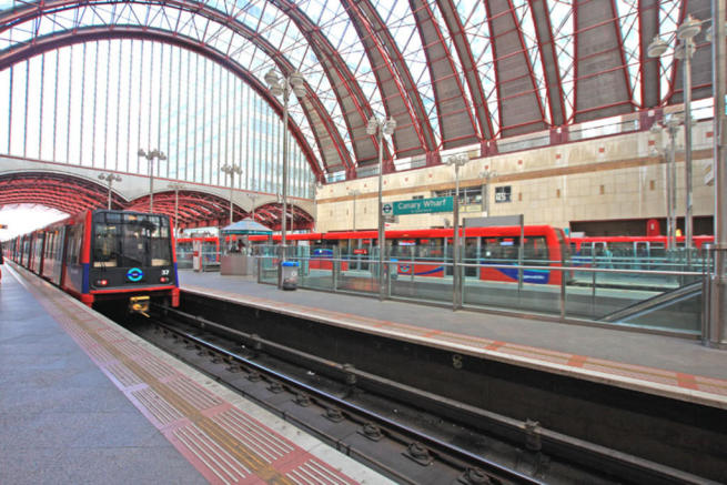 DLR Station at CW