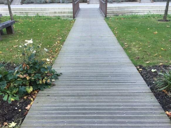 Path Middle of De...