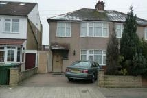 semi detached property in Manor road...