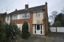 semi detached property in Fawcett Crescent...