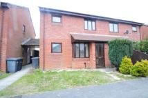 semi detached home in Danehurst Place, Andover...