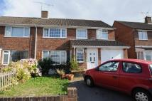 semi detached home for sale in Valencia Way, Andover...
