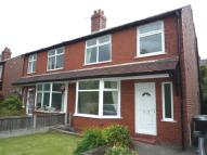 semi detached home to rent in Hope Road, Sale, M33 3AW.