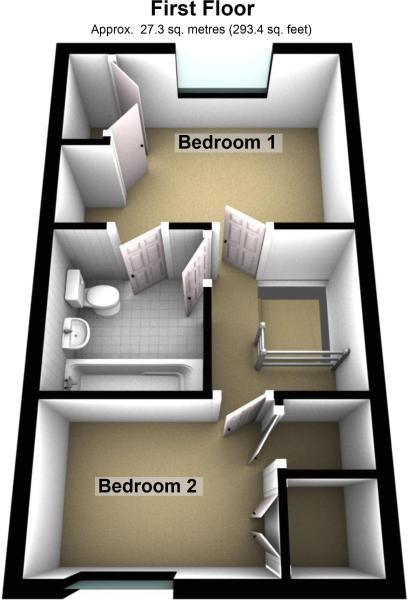 3D first floor pl...