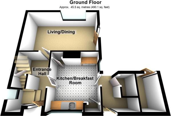 3D ground floor p...
