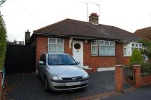 Semi-Detached Bungalow to rent in West Grove...