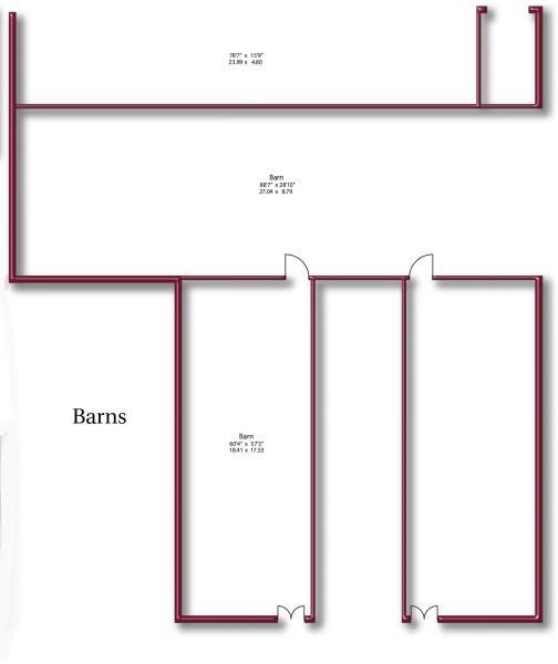 Floor Plan - Barn