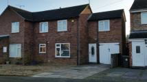 Christopher Drive semi detached house to rent