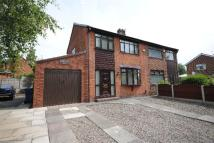 3 bed semi detached home in Walkden Avenue, Wigan...