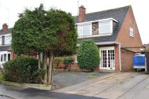 semi detached home to rent in Wolds Drive, Keyworth...