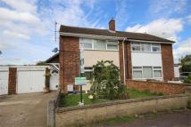 3 bed semi detached property for sale in Primrose Close, ARLESEY...