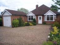 Bungalow in Braunston Road, Oakham...