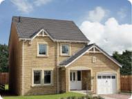 4 bed new property in Priory Grange, Inchture...
