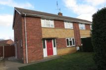 semi detached home to rent in St. Johns Close, Baston...