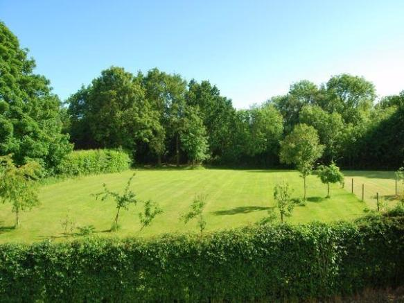 Garden View From House