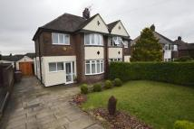 3 bed semi detached home in Ash Bank Road...