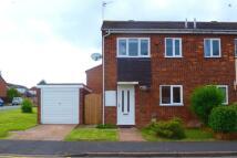 2 bedroom semi detached home in Benson Close, Perton...